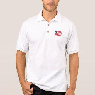 Liberia Flag Polo Shirt