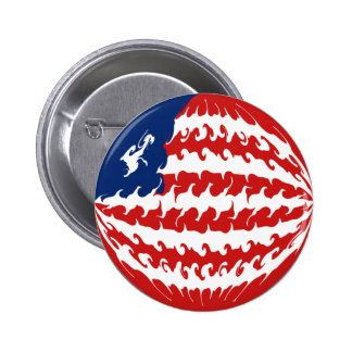 Liberia Gnarly Flag Buttons