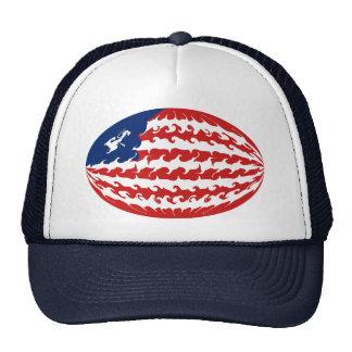 Liberia Gnarly Flag Hat