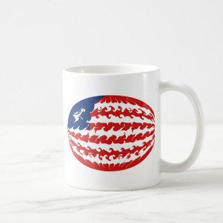 Liberia Gnarly Flag Mug