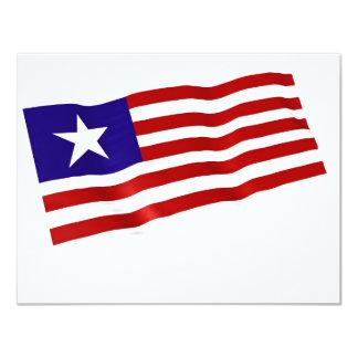 Liberia Invitación 10,8 X 13,9 Cm