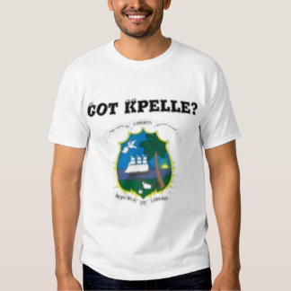 LIBERIA (KPELE TRIBE)MAP T-SHIRT AND ETC