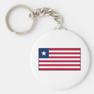 Liberia – Liberian Flag Keychain