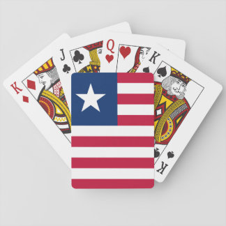 Liberia National World Flag Playing Cards