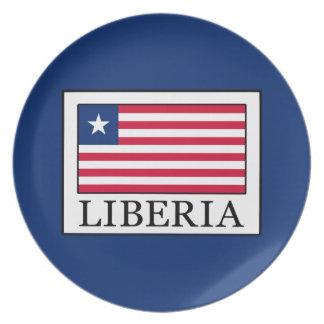 Liberia Plate