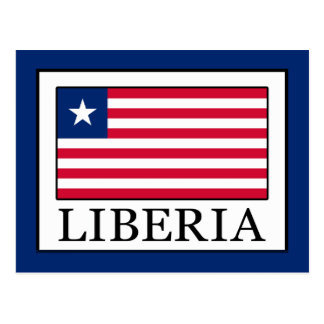 Liberia Postcard