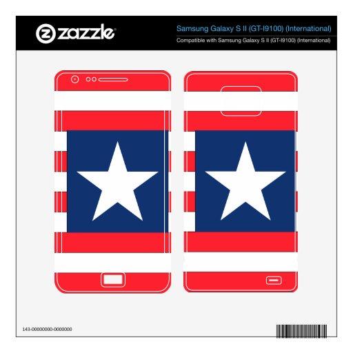 Liberia Samsung Galaxy S II Skin