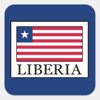 Liberia Square Sticker