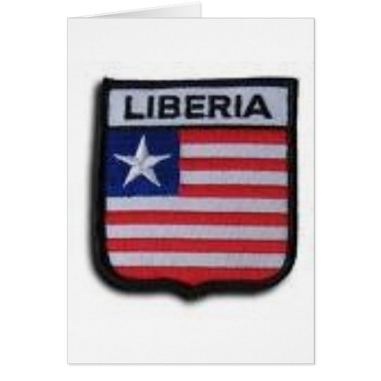 Liberia T-Shirts, Postcards,Hats and  more Card
