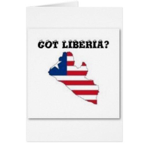 Liberia Tarjeta De Felicitación