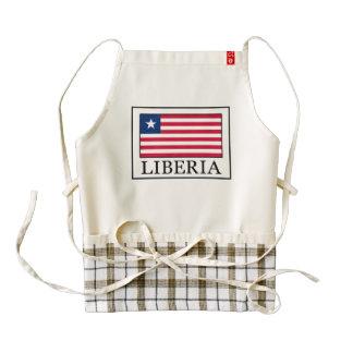 Liberia Zazzle HEART Apron
