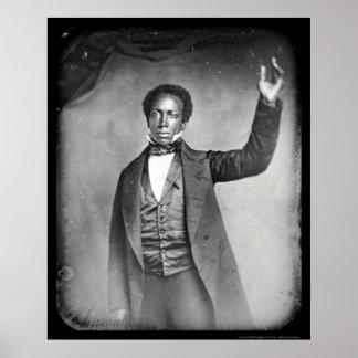 Liberian Ed J Roye Daguerreotype 1856 Poster