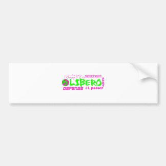 Libero Traits Car Bumper Sticker