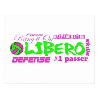Libero Traits Postcard