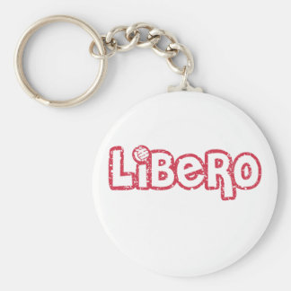 Libero Volleyball Keychain