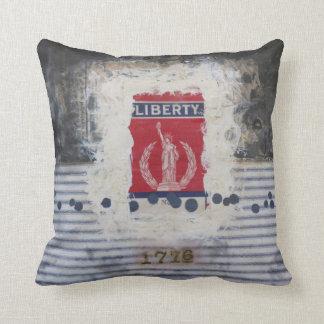 Libertad 16 x almohada de tiro polivinílica 16