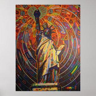 libertad 2009 de la señora póster