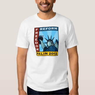 Libertad 2012 de Sarah Palin Camisas
