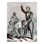 Libertad a los esclavos; Abraham Lincoln