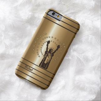 Libertad americana de oro funda de iPhone 6 barely there