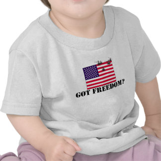 Libertad americana camiseta