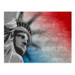 Libertad americana tarjetas postales