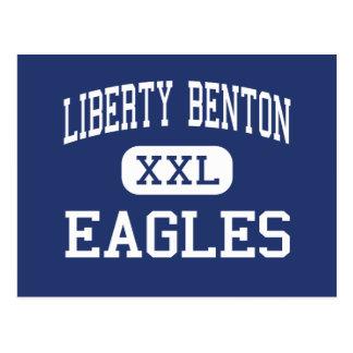Libertad Benton - Eagles - altos - Findlay Ohio Postales