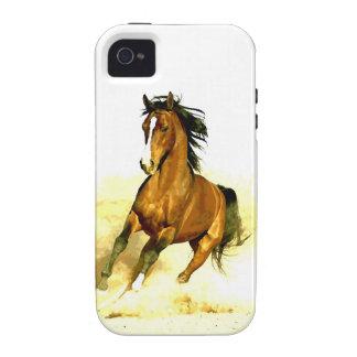 Libertad - caballo de funcionamiento Case-Mate iPhone 4 carcasas
