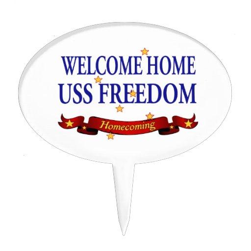 Libertad casera agradable de USS Decoraciones De Tartas