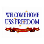 Libertad casera agradable de USS Postales