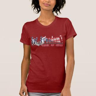 ¿Libertad conseguida Agradezca a un aviador Camisetas