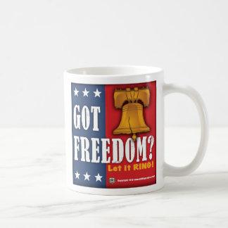 ¿Libertad conseguida? Taza