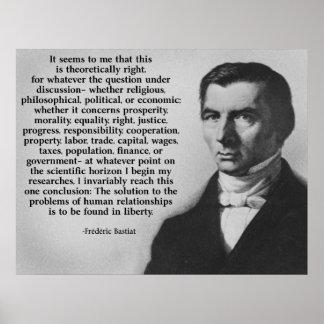 Libertad de Bastiat Impresiones