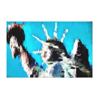 Libertad de fusión impresión en lienzo