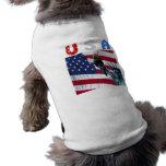 Libertad de la bandera de los E.E.U.U. Camiseta De Mascota