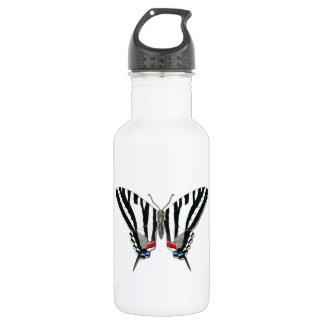 Libertad de la mariposa de Swallowtail de la cebra