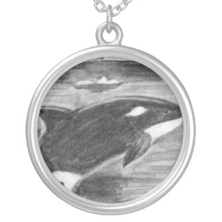 Libertad de la orca colgante redondo