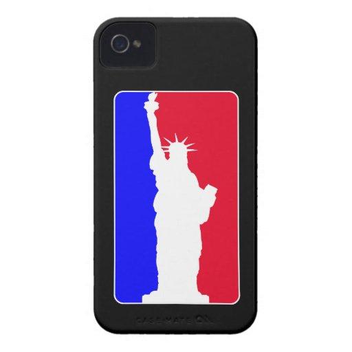 Libertad de la primera división iPhone 4 protector
