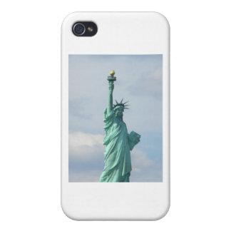 libertad de la señora iPhone 4/4S carcasas