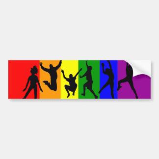 Libertad de LGBT a vivir Pegatina Para Auto