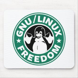 Libertad de Linux del Gnu Mousepads