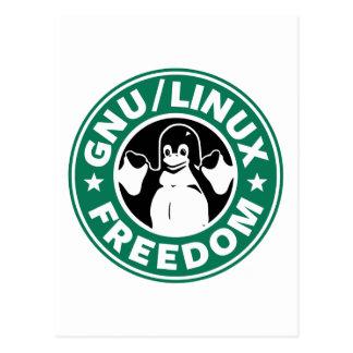 Libertad de Linux del Gnu Postal