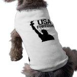 Libertad de los E.E.U.U. Camisa De Perro