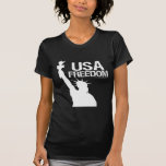 Libertad de los E.E.U.U. Camiseta
