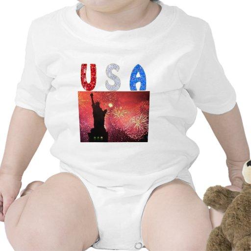 Libertad de los E.E.U.U. Traje De Bebé