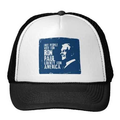 Libertad de Ron Paul para América Gorro