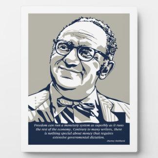 Libertad de Rothbard Placas De Madera