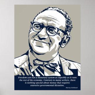 Libertad de Rothbard Posters