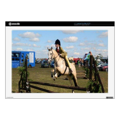 libertad de salto de la mosca del caballo calcomanía para portátil
