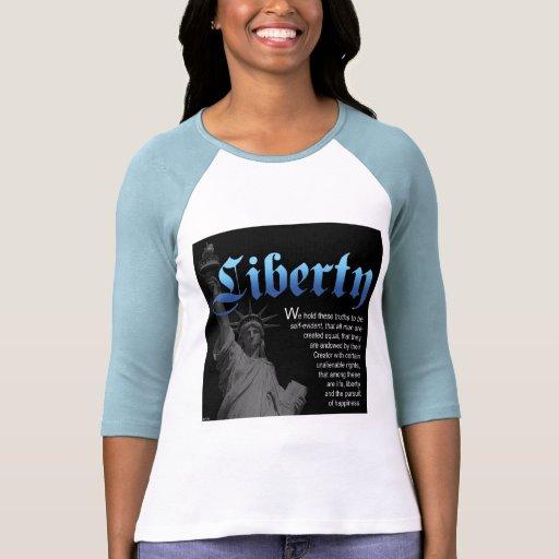 Libertad declarada camisetas